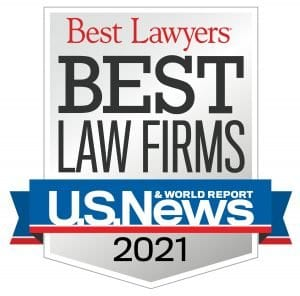 US News Report - Best Law Firms - Standard Badge